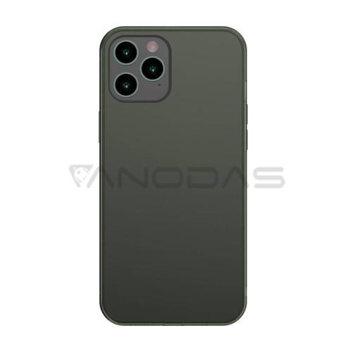 Baseus dėklas iPhone 12 Pro Max - Žalias