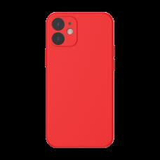 Baseus Liquid Silica Gel Case for iPhone 12 Mini - Red