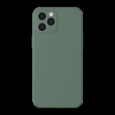 Baseus Liquid Silica Gel Case dla iPhone 12 Pro - Green