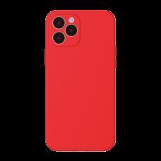 Baseus Liquid Silica Gel Case dla iPhone 12 Pro - Red