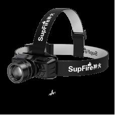 Supfire head flashlight USB 300lm