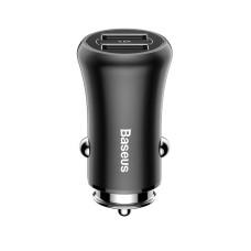 Baseus Gentleman 2xUSB Car charger - Black
