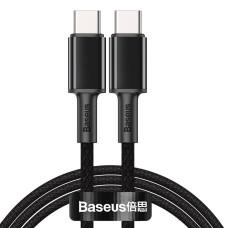 USB-C to USB-C Cable Baseus High Density Braided 100W 2m - Black