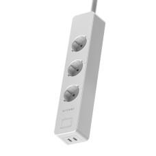Blitzwolf BW-SHP9 išmanusis prailgintuvas 3300W 3 lizdai 2x USB 2.4A