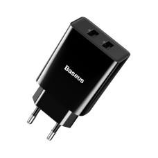 Baseus Speed Mini Dual U Charger 10.5W (EU) - Black