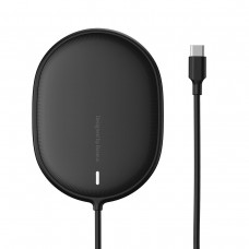 Baseus Light Wireless Charger for iPhone 12 15W - White