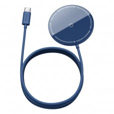 Baseus Simple Mini magnetic induction wireless charger MagSafe 15W - Blue