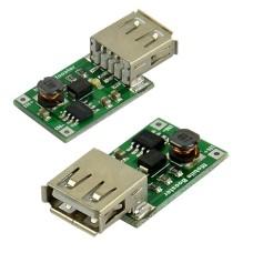 DC/DC Įtampos keitiklis iš 0.9-5V į 5V USB (STEP UP)