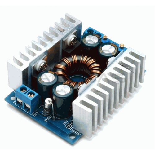 DC/DC Power Converter from 5-30V to 1.25-30V 8A (STEP UP/ DOWN)