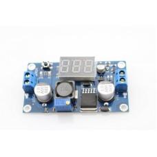 DC/DC Converter module from 4V-40V to 1.5V-35V + voltmeter (STEP DOWN)