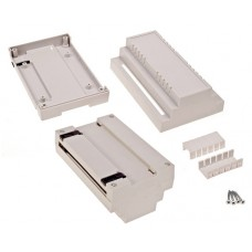 Enclosure for DIN rail mounting Y - 88.8mm X - 138.8mm Z - 62.8mm