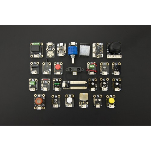 DFRobot 27 Pcs Gravity Sensor Kit for Arduino