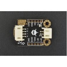 DFRobot Gravity UART MP3 garso modulis  3.3V ~ 5V MP3 WAV