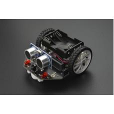 DFRobot micro: Maqueen edukacinė programuojama roboto platforma Micro:bit Makecode 3x AAA