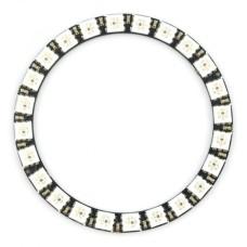 Diodų žiedas LED RGB WS2812 5050x24 - 68mm