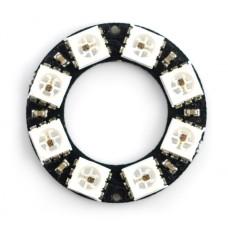Diodų žiedas  LED RGB WS2812B 5050x8 - 28mm