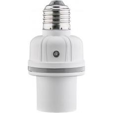 E27 lemputės lizdas su garso ir šviesos sensoriais