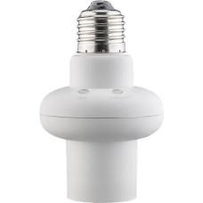 E27 lemputės lizdas su šviesos ir judesio sensoriais