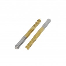 Freza dengta titano nitridu TiN danga 2mm - 3.175mm