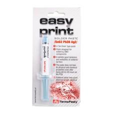 Litavimo pasta Easy Print Sn62 Pb36 Ag2 1.4ml
