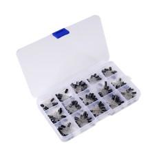 Electrolytic Capacitor KIT 200 pcs.