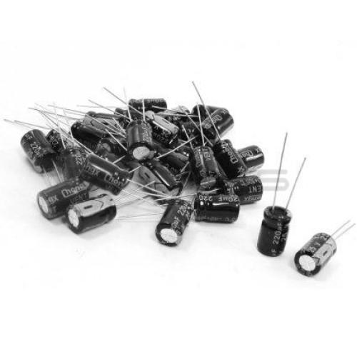 Electrolytic Capacitor Bag 120 pcs.