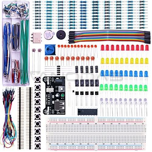 Elektronikos komponentų rinkinys - MAXI