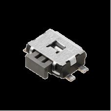 EVQPUJ02K - jungiklis be fiksacijos šoninis SPST-NO  SMD 160 gf