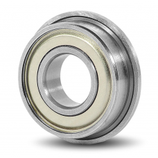 F688ZZ Metal Shielded Deep Groove Flanged Ball Bearing 8x16x5mm