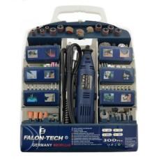 Falon-tech 160W mini-drill with accessories - 300 elements