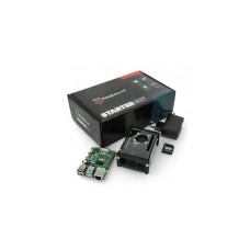 Raspberry Pi 4B WiFi 8GB RAM rinkinys su priedais - korpusas su ventiliatoriumi