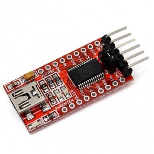 FT232 - FTDI USB/TTL - 5V/3,3V konverteris