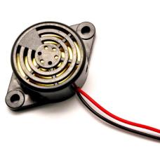 Garso sirena buzzer - 12VDC juoda
