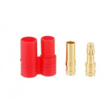 GOLD 3.5mm kištukas ir lizdas raudona