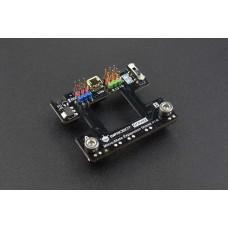 Gravity Micro:Mate – I/O išplėtimo plokštė skirta Micro:bit 5V / 3.3 V