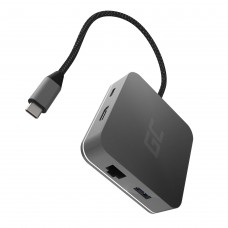 Green Cell 6in1 USB-C HUB