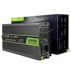 Inverter 12V/220V 2000W/4000W Modified sine wave Green Cell