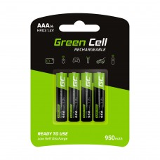 Green Cell Rechargeable battery AAA HR03 950mAh (4pcs.)
