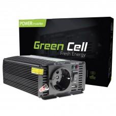 Inverter 12V/230V 300W/600W Modified sine wave Green Cell