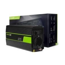 Inverter 12V/230V 500W/1000W Modified sine wave Green Cell