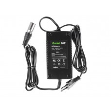 Green Cell Charger for E-Bikes 3-Pin XLR 42V 2A