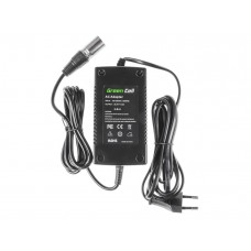 Green Cell įkroviklis skirtas E-Bike 3-pin XLR 24V 2A
