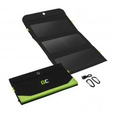 Green Cell GC SolarCharge Saulės panelė 21W 6400mAh su USB ir Micro USB