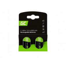 Rechargeable batteries Green Cell CR14 HR14 Ni-MH 1.2V 4000mAh (2pcs.)