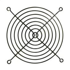 Grotelės ventiliatoriui 120x120mm metalinės juodos