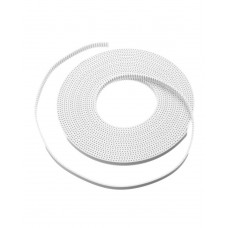 GT2 6mm Timing Belt white High Quality - 1m