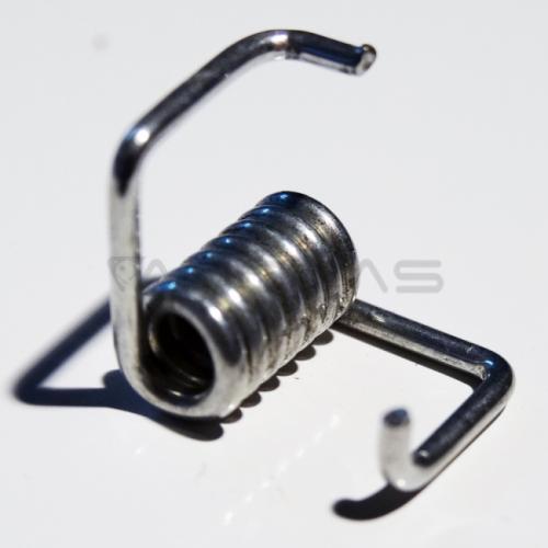 GT2 diržo sukimo spyruoklė skirta mažinti diržo laisvumą