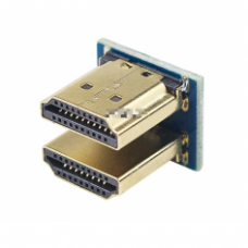 HDMI 1.4 U formos mini adapteris skirtas Raspberry Pi ekranams