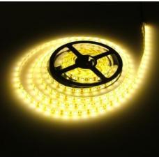 Hermetinė 5050 Šiltai balta 60 LED/1M Šviesos Diodų Juosta