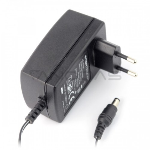 Impulsinis maitinimo šaltinis 12V / 2A - DC 5.5 / 2.1 mm